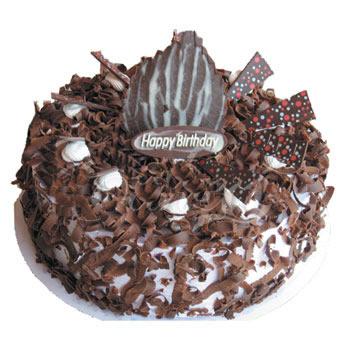 巧克力蛋糕/树屑