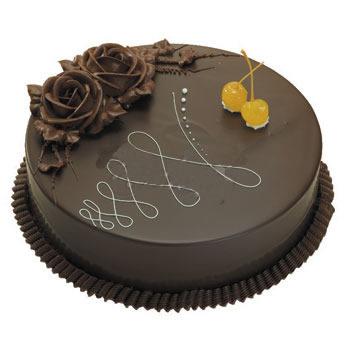 巧克力蛋糕/秋意浓