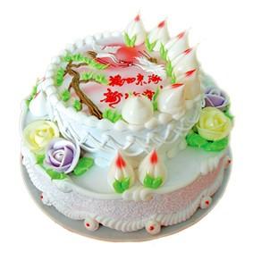 鲜奶蛋糕/蟠桃祝寿