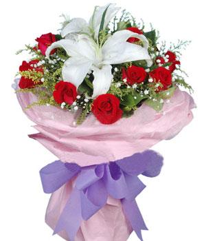 9枝紅玫瑰/天使的祝福