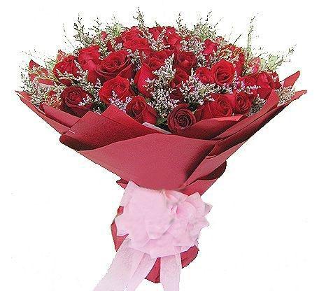 51枝红玫瑰/就是爱你