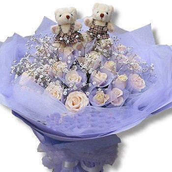 33枝白玫瑰/纯洁爱情