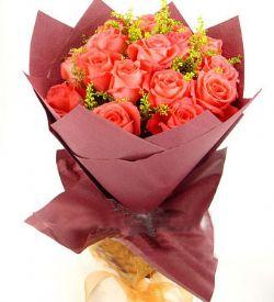 19枝粉玫瑰/浪漫与激情