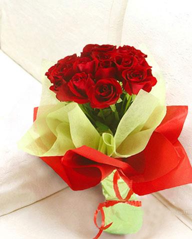 12枝紅玫瑰/紅塵深處