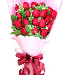 18枝紅玫瑰/魅力佳人