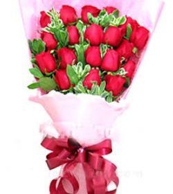 18枝红玫瑰/魅力佳人
