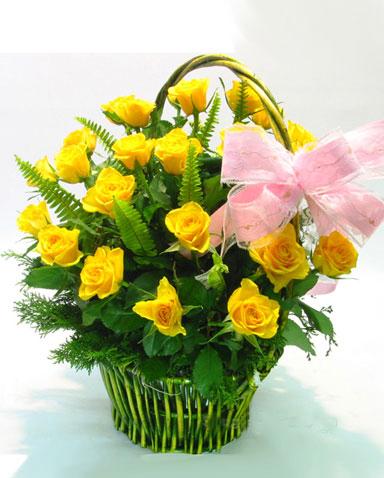 21枝黃玫瑰/浪人情歌