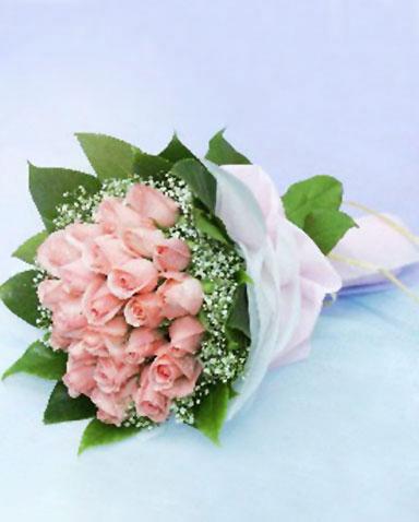 26枝粉玫瑰/永恒