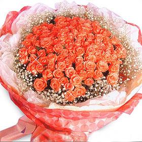 101枝香摈玫瑰/我的爱人