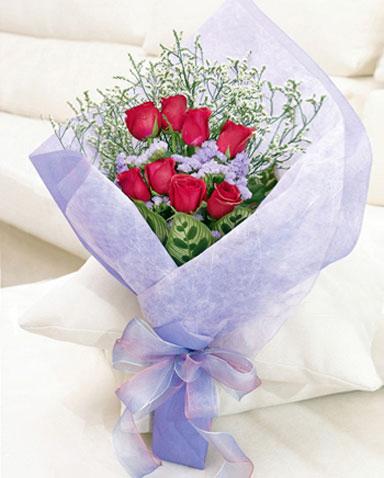 8枝红玫瑰/无边思念