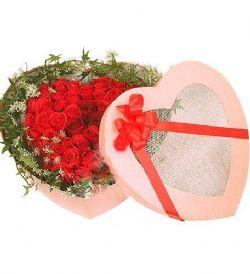 39枝红玫瑰/星之恋: 红玫瑰39枝,蕾丝、常春藤点缀