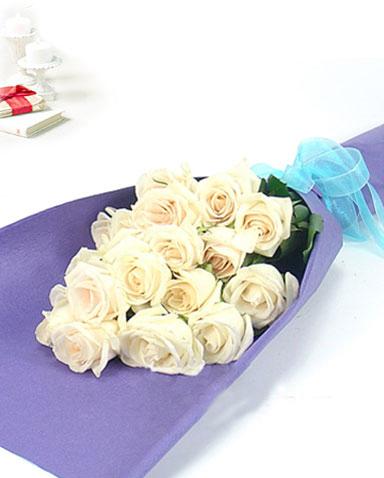 16枝白玫瑰/重回相遇