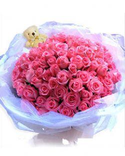 99枝粉玫瑰/爱无极限