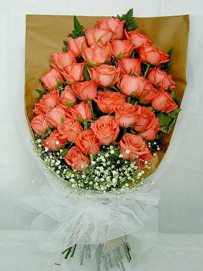 36枝粉玫瑰/甜蜜蜜