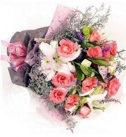 12枝粉玫瑰/粉色恋人