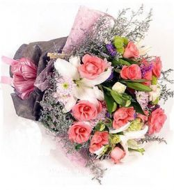 12枝粉玫瑰/粉色戀人