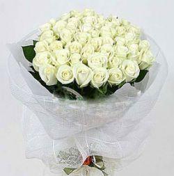 33枝白玫瑰/清晨之恋