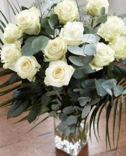 12枝白玫瑰/瞬間的永恒