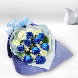 9枝藍色妖姬/希望