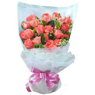 21枝粉玫瑰/爱恋天使