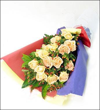 19枝香摈玫瑰/思念
