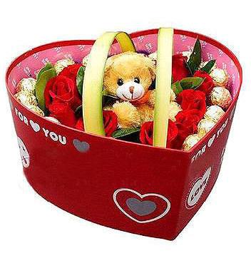 11枝紅玫瑰/讓愛靠近