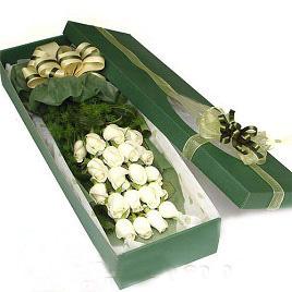 20枝白玫瑰/愛你到永遠