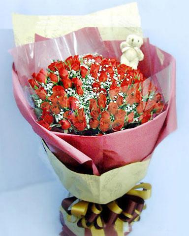 99枝红玫瑰/想念