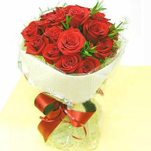 18枝紅玫瑰/天天思念