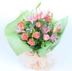 11枝粉玫瑰/因��勰�