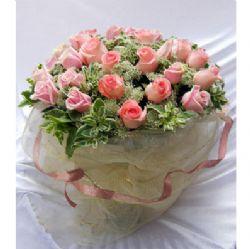 36枝粉玫瑰/生命中的精彩