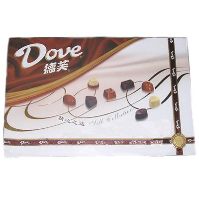德芙320克巧克力精心之�x