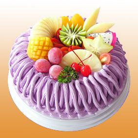�r奶蛋糕/水果芋泥(8寸)