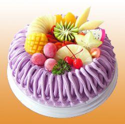 鲜奶蛋糕/水果芋泥(8寸)
