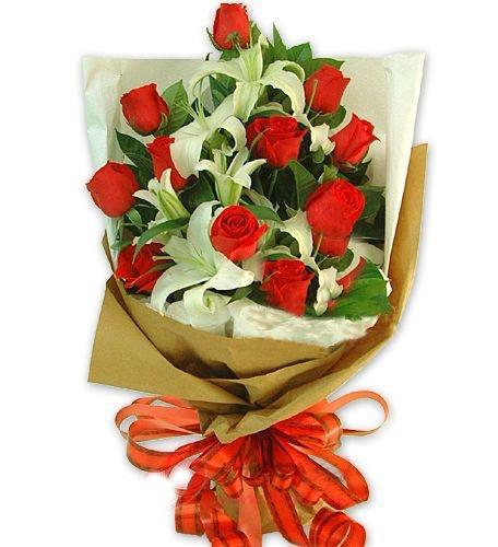 11枝紅玫瑰/情深意長