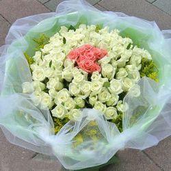 80枝白玫瑰/爱的罗曼蒂克