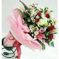 11枝白玫瑰/爱无止境