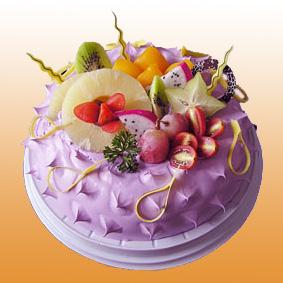 鮮奶蛋糕/白雪香果(8寸)