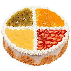 生日蛋糕/什锦水果木司(8寸)