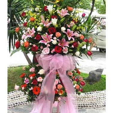�_�I花�@/蒸蒸日上: 香水百合,玫瑰,太�花,康乃馨�G�~