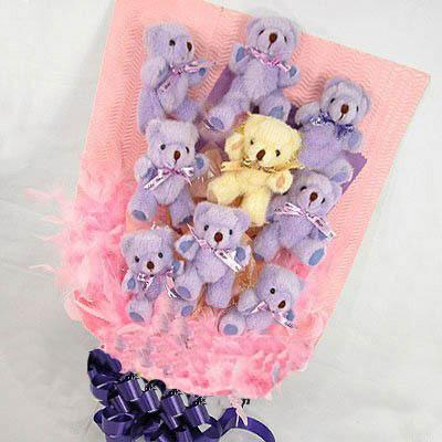 9只小熊/紫想你