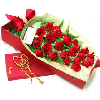 24枝�t玫瑰/完美情人