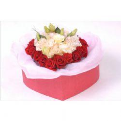 18枝红玫瑰/心中的爱