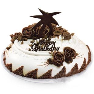 巧克力蛋糕/爱意绵绵(8寸)