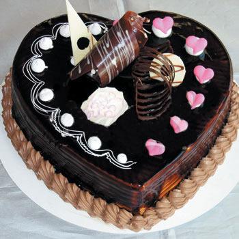 巧克力蛋糕/心型巧衣(8寸)