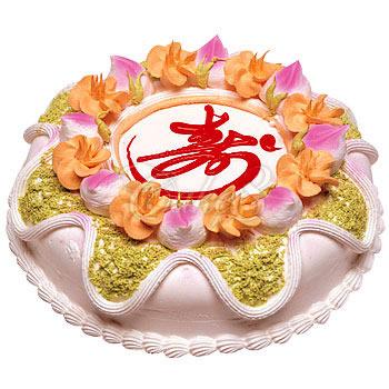 祝寿蛋糕/健康长寿(8寸)