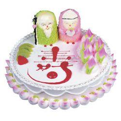 祝寿蛋糕/福寿双全(8寸)