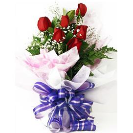 6枝红玫瑰/爱意浓浓