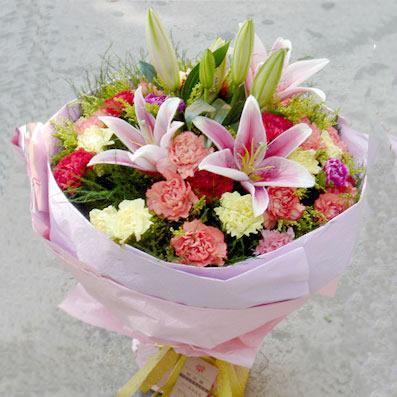 30枝多色康乃馨/感恩母亲