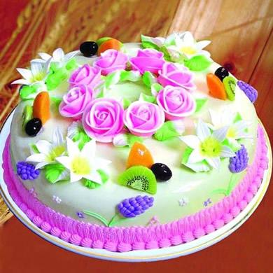鲜奶蛋糕/你的心在何处(8寸)